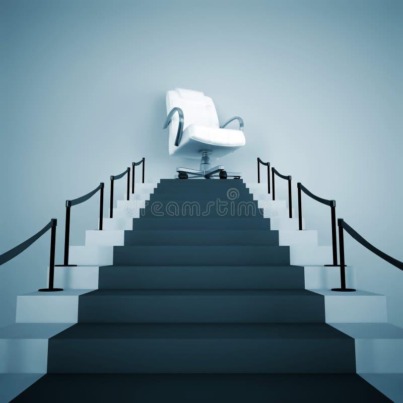 Aufwärts Treppe stock abbildung