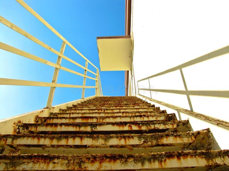 Aufwärts Treppenhaus lizenzfreie stockfotografie