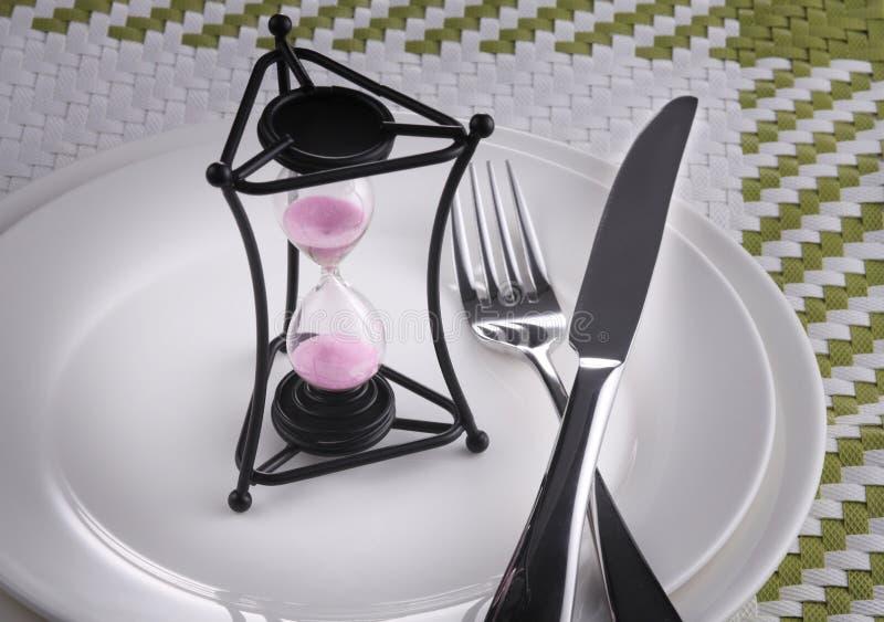 Download Aufwartung des Abendessens stockbild. Bild von schuß - 26359641