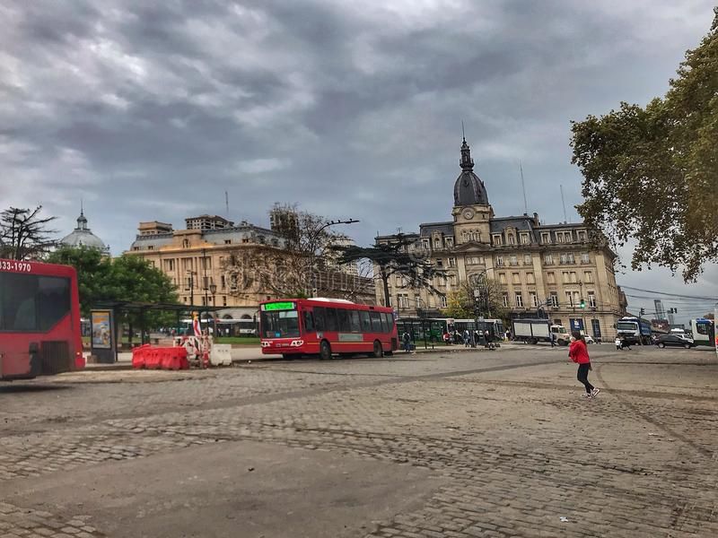 Aufwecken von Buenos Aires stockbild