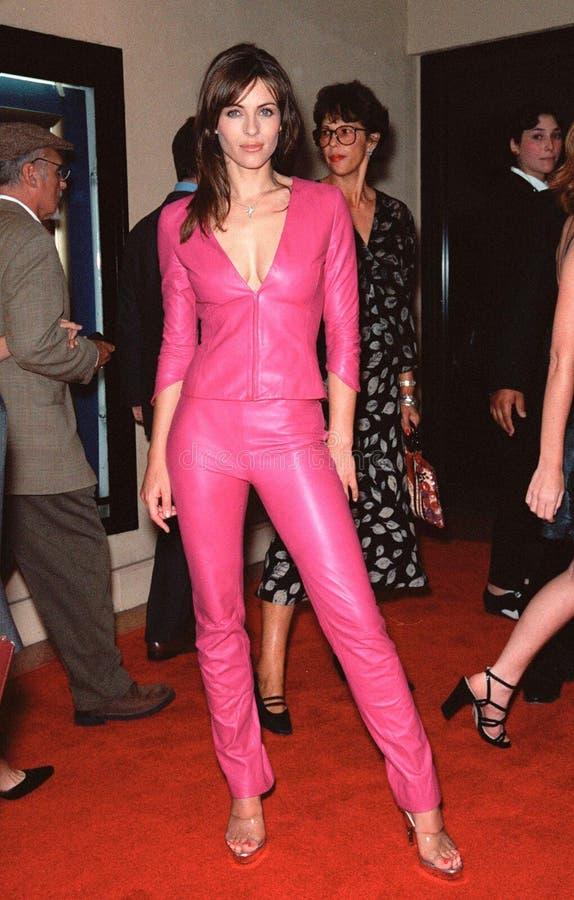 Elizabeth Hurley, Hugh Grant zdjęcia royalty free