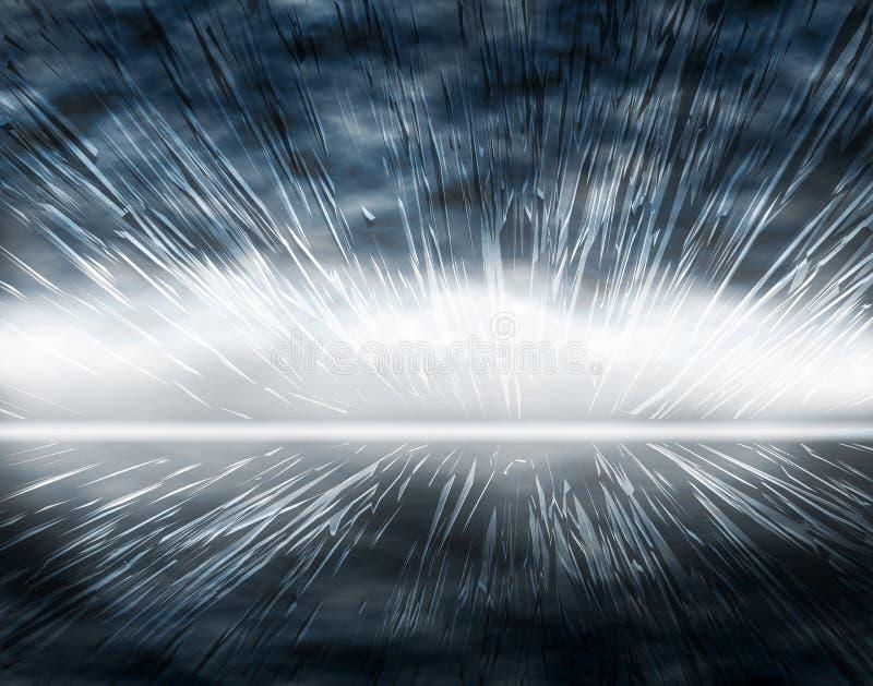 Auge ilustración del vector