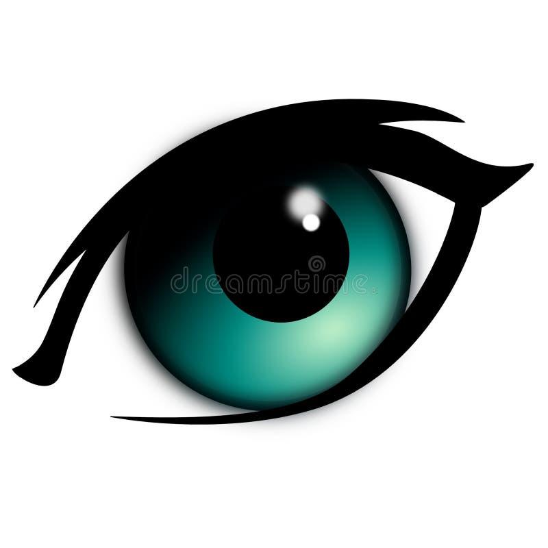 Auge, Aqua, Produkt, Konzeption des Produkts lizenzfreie stockfotografie