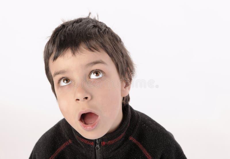 Auge oben vom Jungen lizenzfreies stockfoto