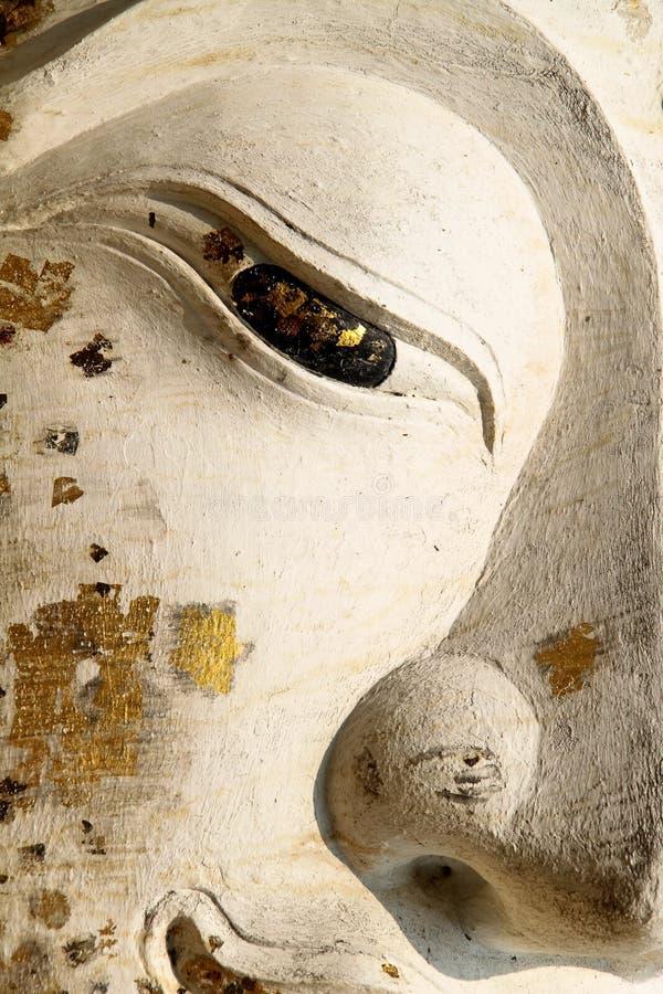 Auge von Buddha lizenzfreie stockfotografie