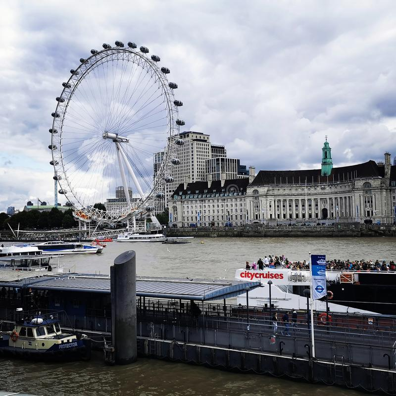 Auge von London stockfotos