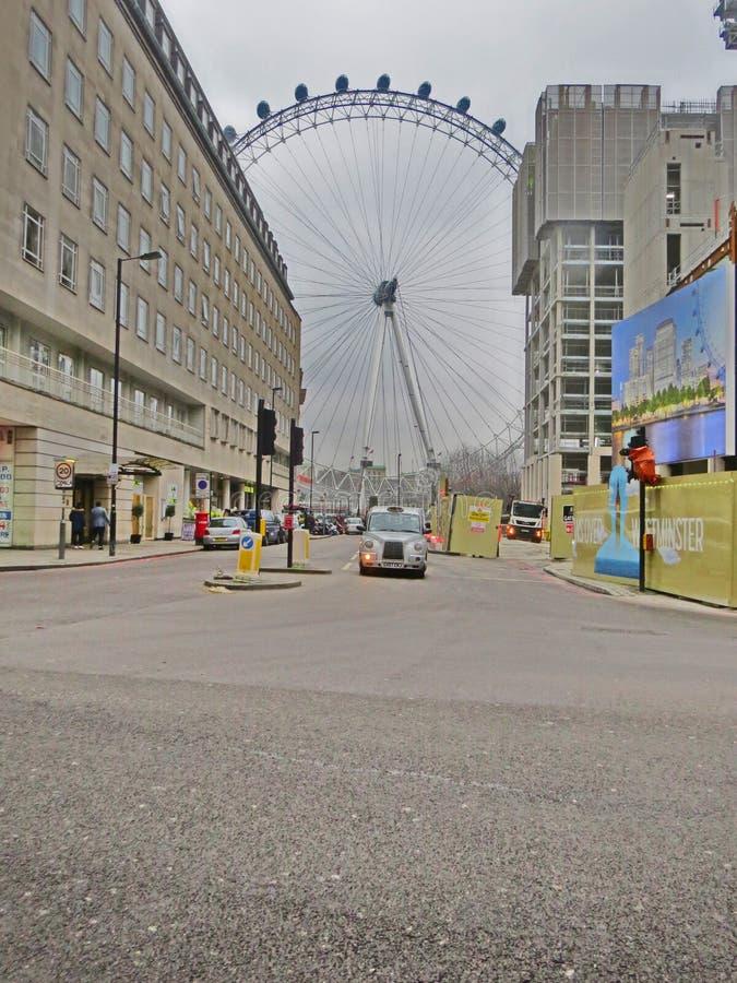 Auge von London, England lizenzfreie stockfotos