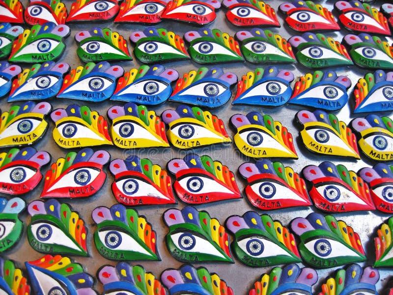 Auge von Osiris lizenzfreies stockbild