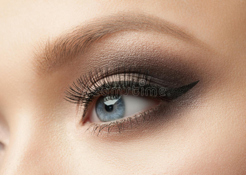 Augen-Make-up stockfotos