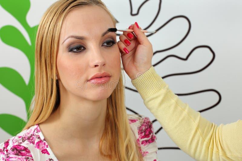 Augenbrauen lizenzfreie stockfotos