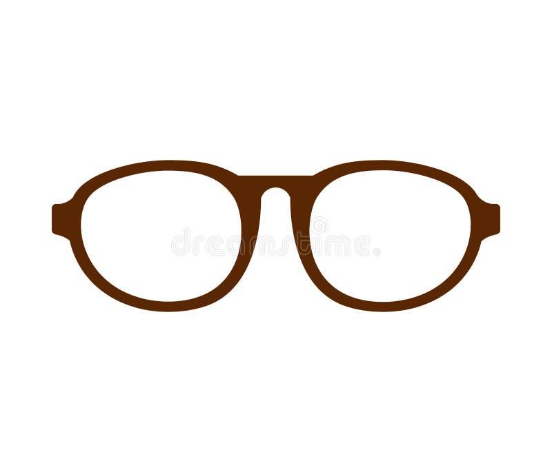 Augenglas-Artikone vektor abbildung