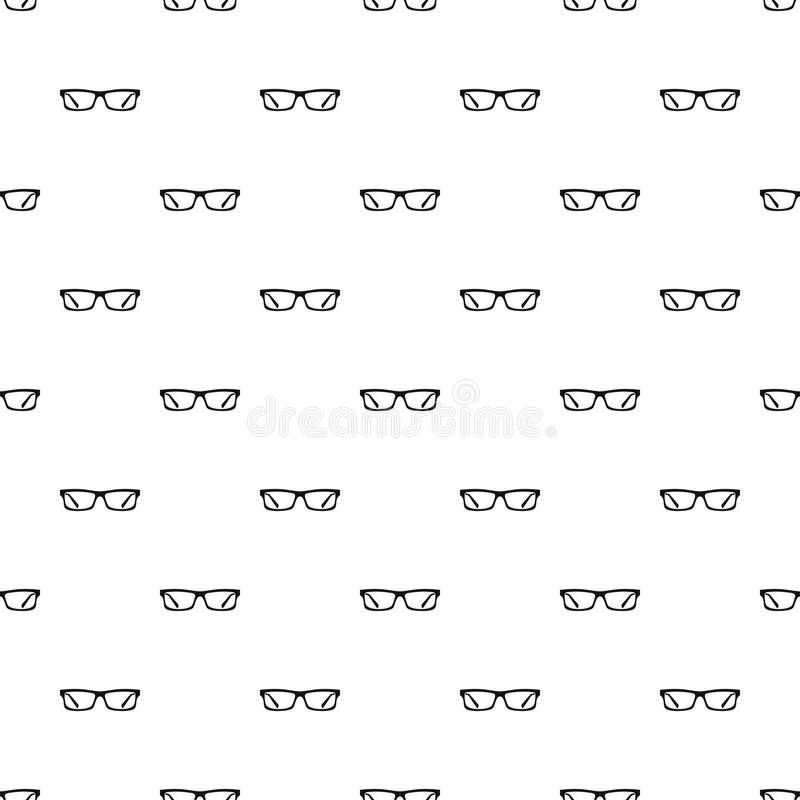 Augenglas-Mustervektor lizenzfreie abbildung