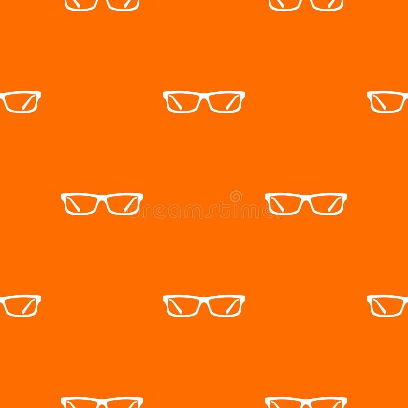 Augenglasmuster nahtlos vektor abbildung