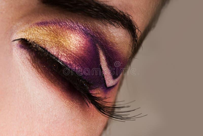 Augenlack lizenzfreies stockfoto