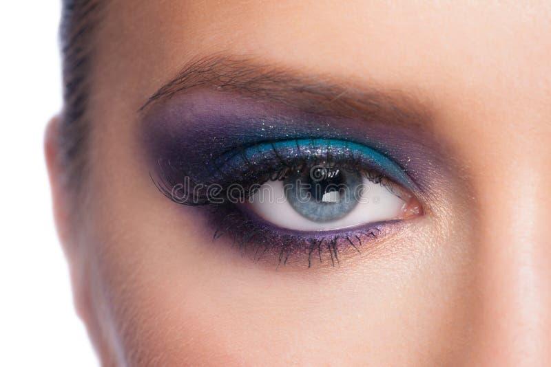 Augenmake-up lizenzfreies stockfoto