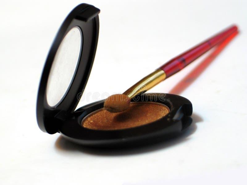Download Augenschminke stockbild. Bild von pflegen, make, schwarzes - 47379