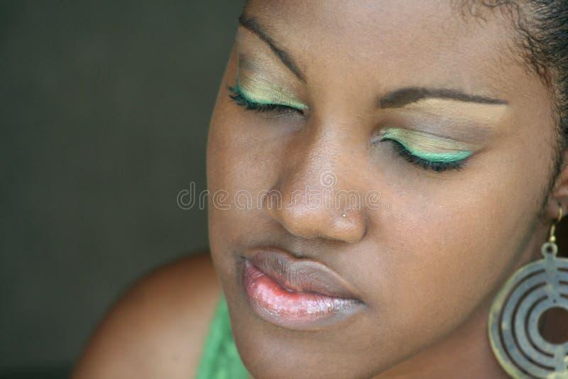 Augenschminke stockbilder