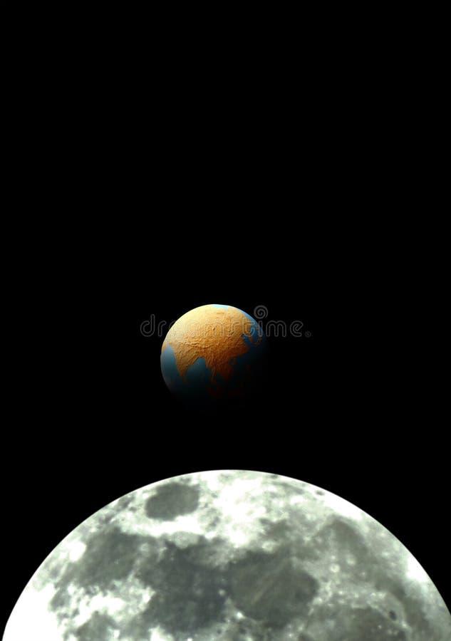 Augmentation de la terre. photo stock