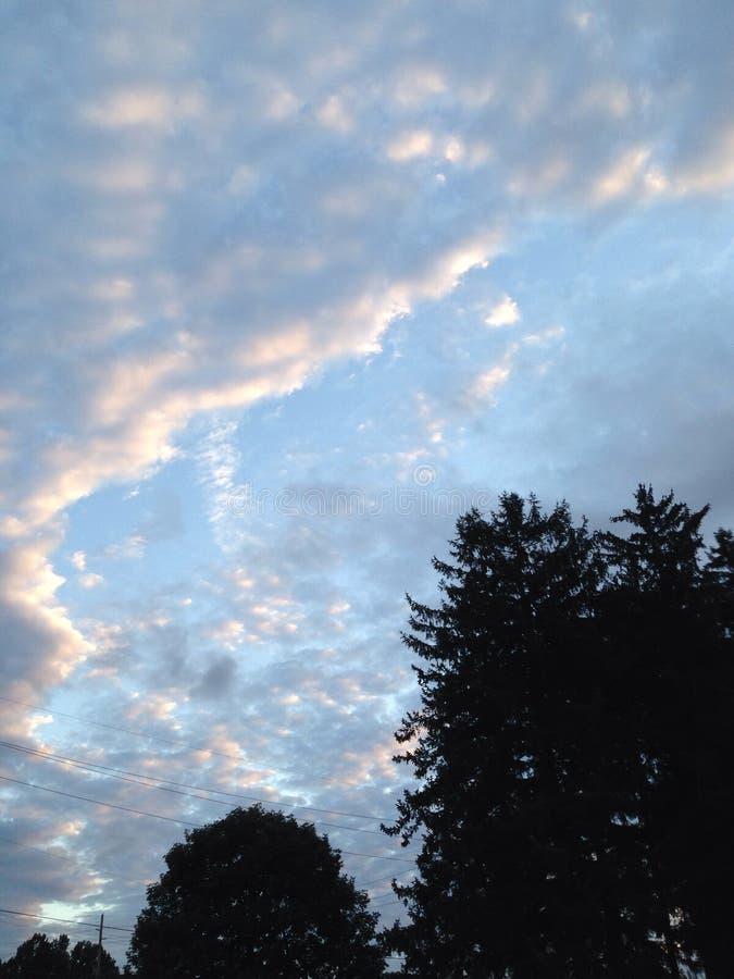 Augmentation de nuages de sucrerie de coton photo libre de droits