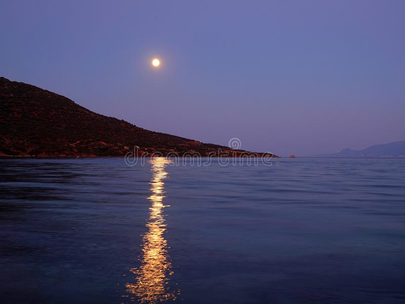 Augmentation de pleine lune photos stock
