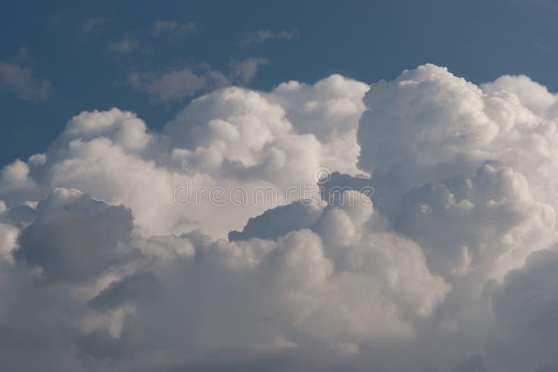 Augmentation gonflée supplémentaire de cumulus photos libres de droits