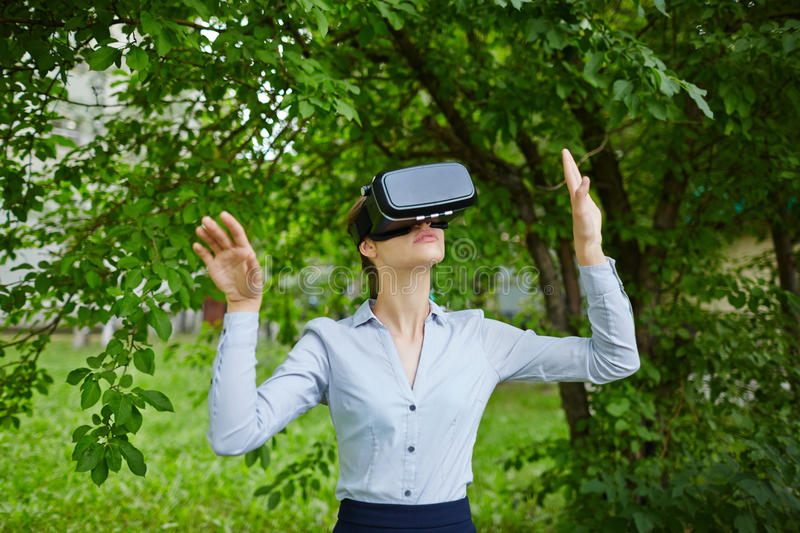 Augmented Reality Forest royalty free stock photo