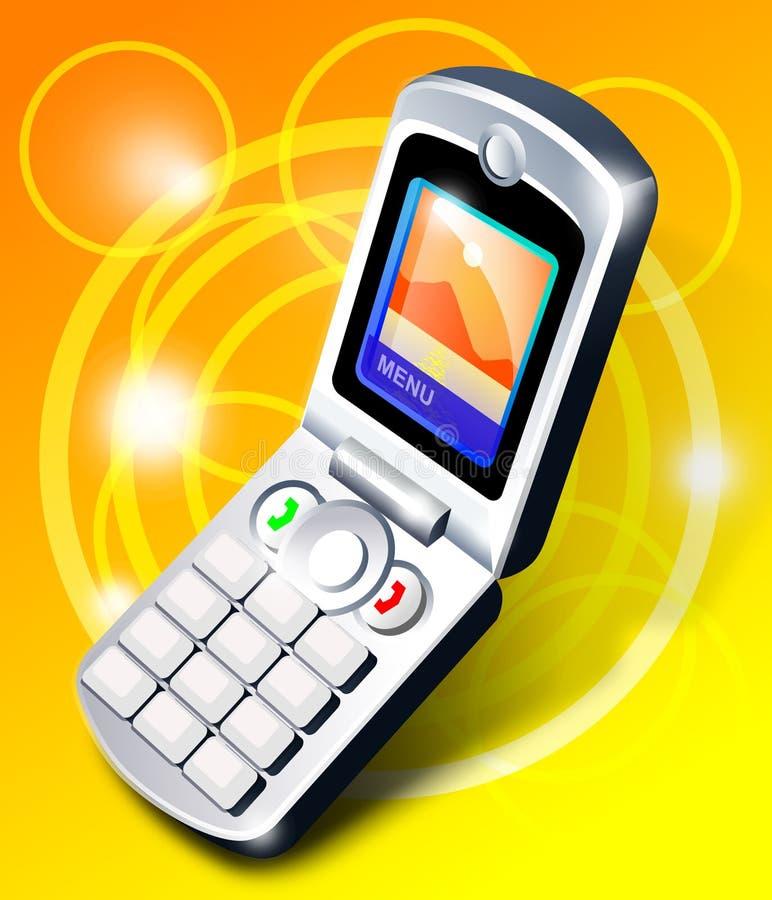 Augmentez le téléphone portable illustration stock