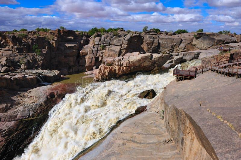 Augrabies tombe (l'Afrique du Sud) photo libre de droits