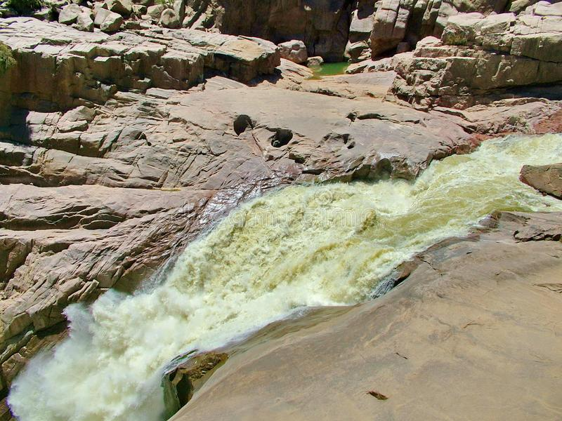 Augrabies waterfalls royalty free stock photos