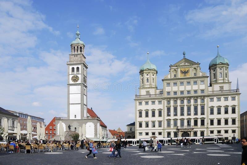 Augsburg foto de stock