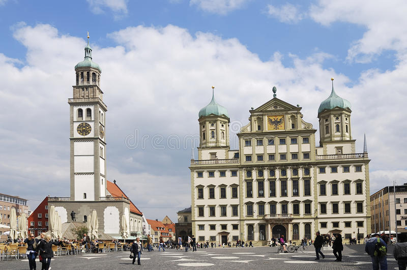 Augsburg imagem de stock