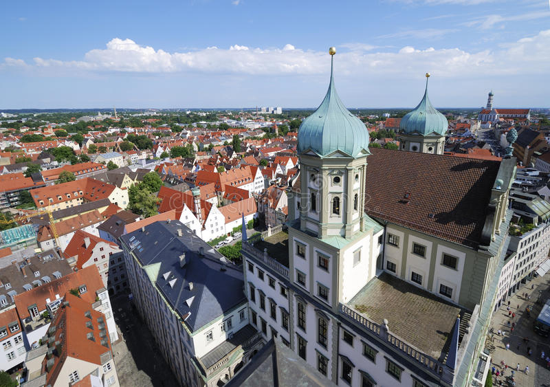 Augsburg imagens de stock