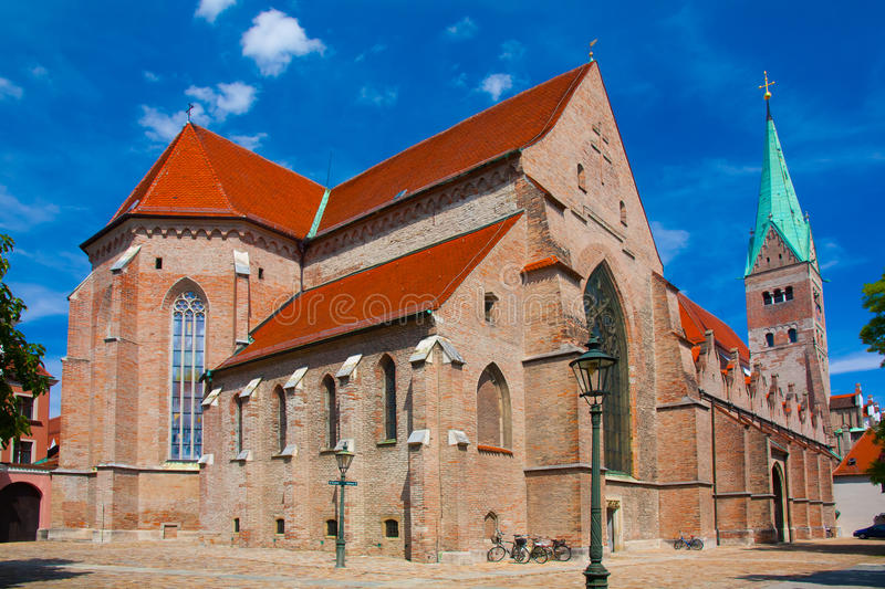 Augsburg Cathedral. Free State of Bavaria royalty free stock images