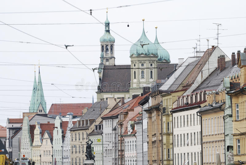 Augsburg City. City of Augsburg in Germany royalty free stock images