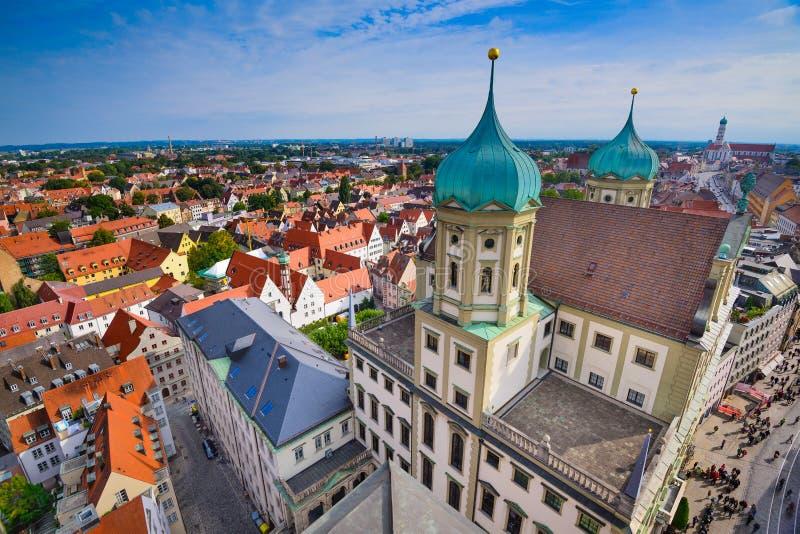Augsburg, Duitsland royalty-vrije stock afbeeldingen