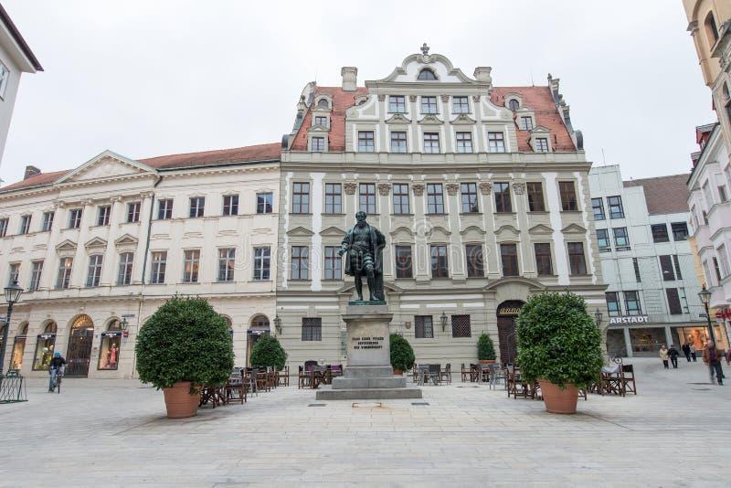 Augsburg Jakob Fugger stock fotografie