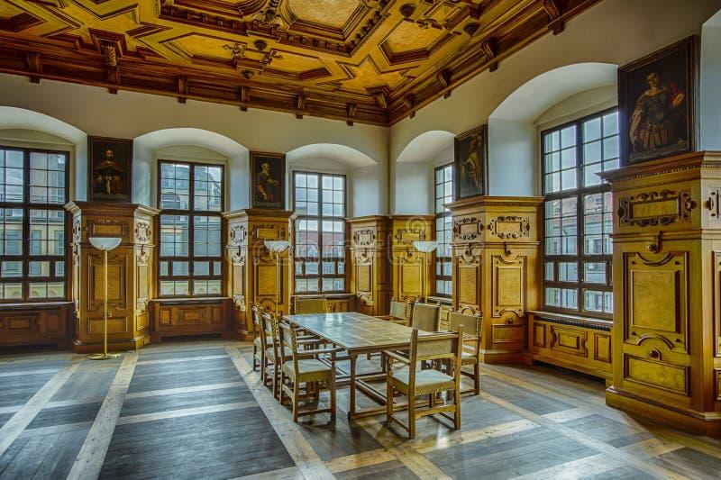 Augsburg Salão dourado foto de stock royalty free
