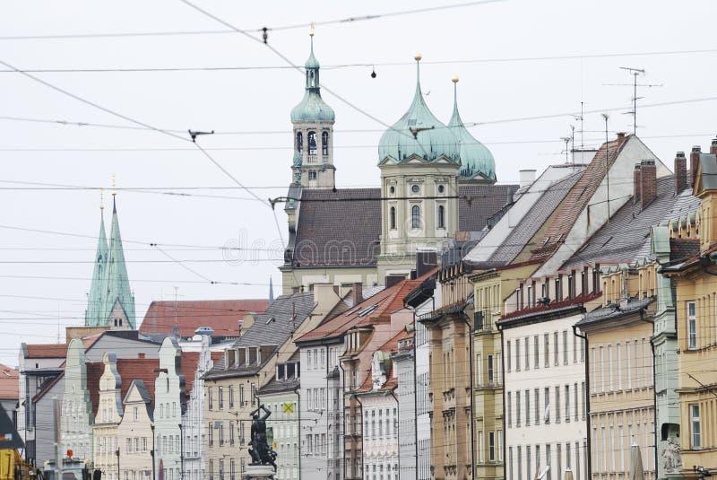 Augsburg-Stadt lizenzfreie stockbilder