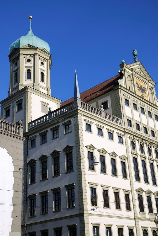 Augsburg-Stadthaus stockfotografie