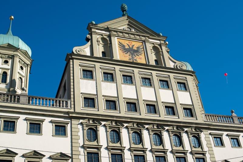 Augsburg Townhall (Rathaus) imagem de stock royalty free