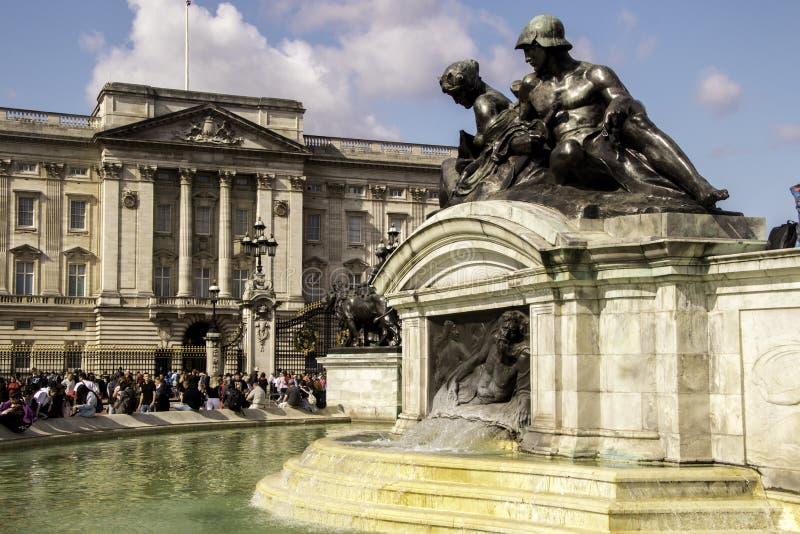 Buckingham Palace - London stock images