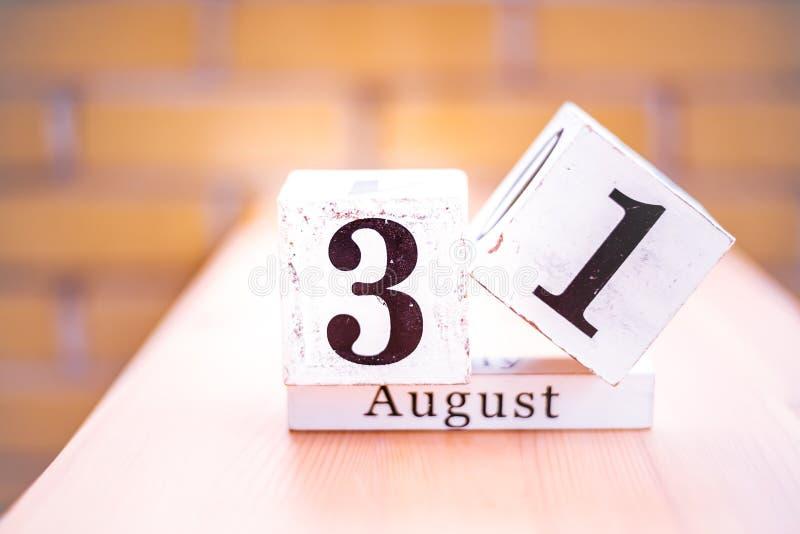 31. August-August 31 - Geburtstag - internationaler Tag - Nationaltag lizenzfreie stockbilder