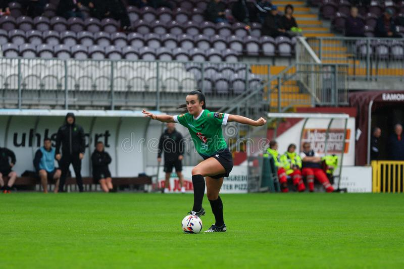 Womens National League game: Galway WFC vs Peamount United royalty free stock photos