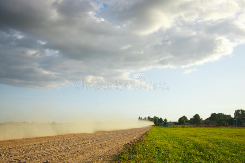 Download August Landscape With A Road Stock Photo - Image: 31884508