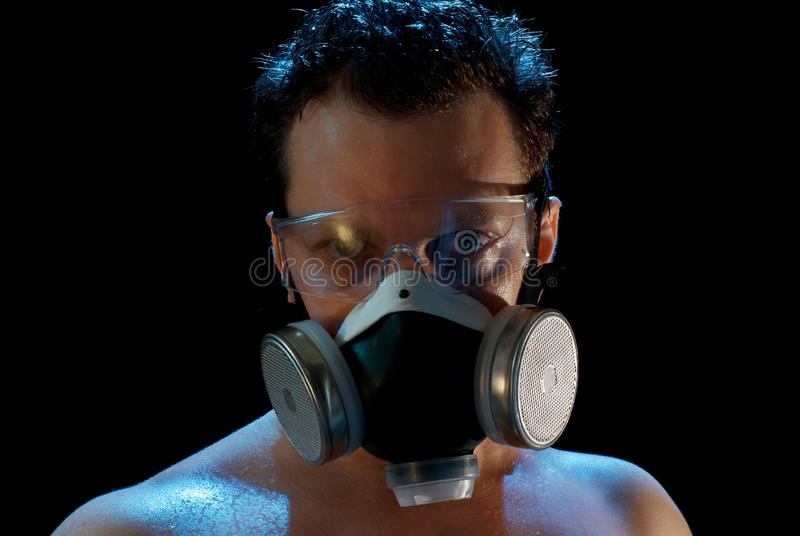Download August in Moscow stock photo. Image of mask, suffering - 15645800