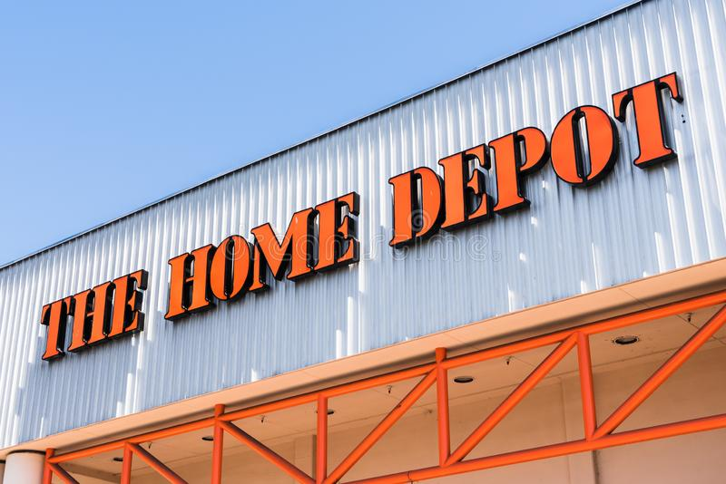The Home Depot Logo Editorial Stock Photo Image Of Convenient 91657823