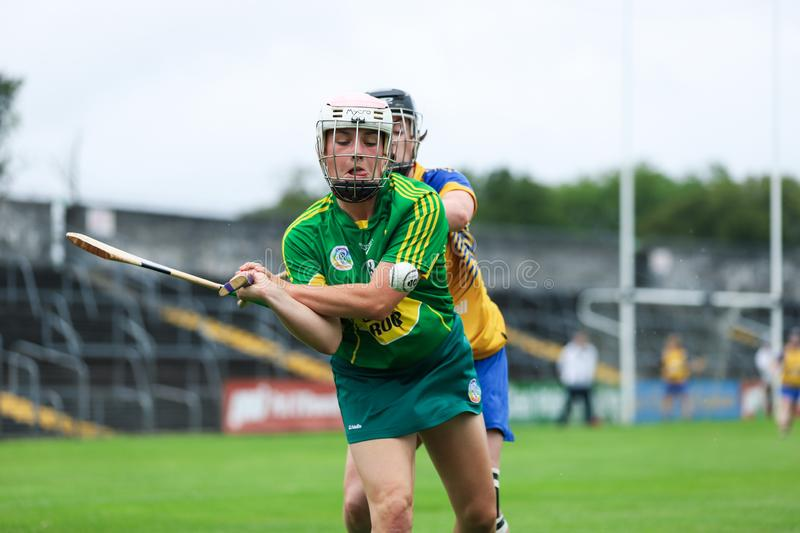All-Ireland Premier Junior Championship Semi-Final between county Clare and county Kerry stock images