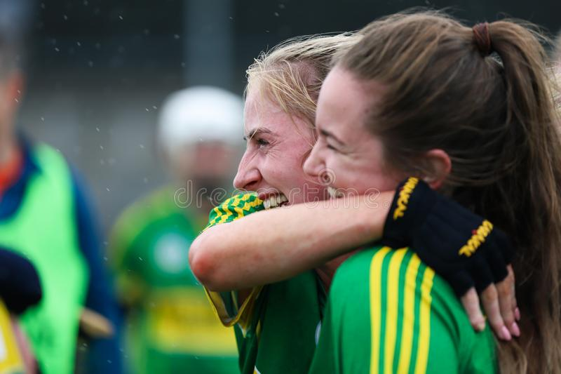 All-Ireland Premier Junior Championship Semi-Final between county Clare and county Kerry royalty free stock photography