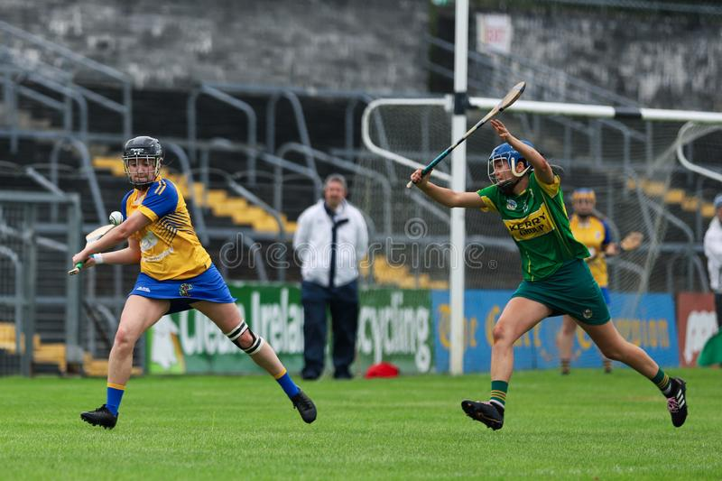 All-Ireland Premier Junior Championship Semi-Final between county Clare and county Kerry royalty free stock images