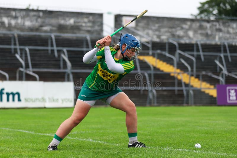 All-Ireland Premier Junior Championship Semi-Final between county Clare and county Kerry royalty free stock photos